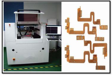 10W Flexible Printed Circuit CNC Laser Cutting Machine / Laser Engraving Machine