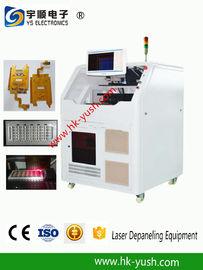 PCB বিভাজক / FR4 বোর্ড লেজারের PCB Depaneling মেশিন ± 20 μM নির্ভুলতা